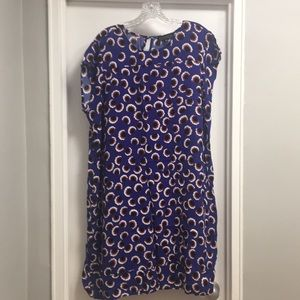 Eloquii 18/20 purple-blue dress